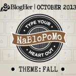 Official NaBloPoMo Announcement