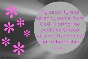 security serenity quote