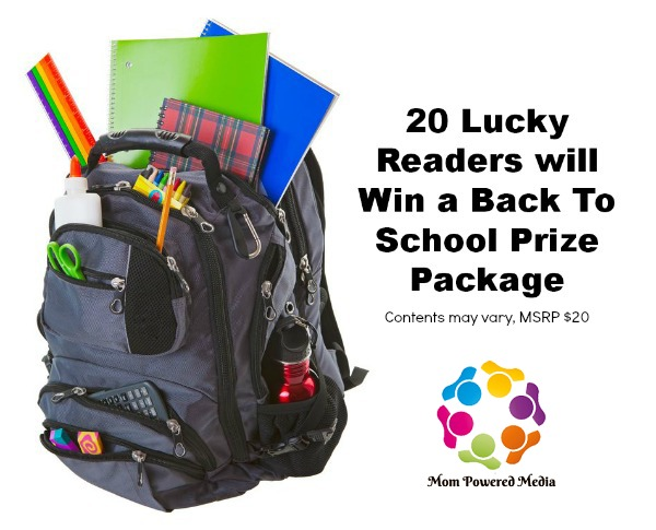 back to school, backpack, giveaway, prize package