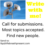 Call for Submissions – Write with Me