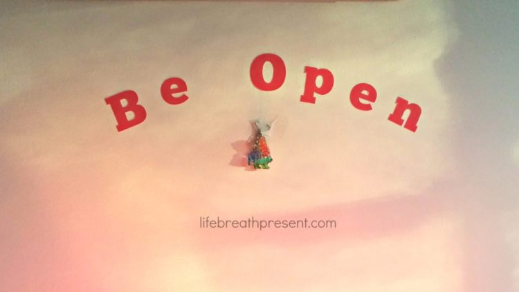open, word of the year, 2015, openness, be open, free, freedom