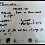 Social Work & Social Work Professionals + #ysocialwork