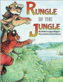 rungle in the jungle, book review, books, children's book, robert logan rogers, netgalley