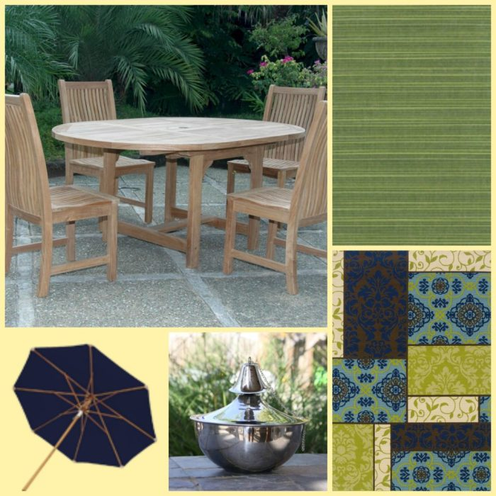 home decor center, patio, options