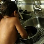 Life Skills with Toddlers: Washing Dishes
