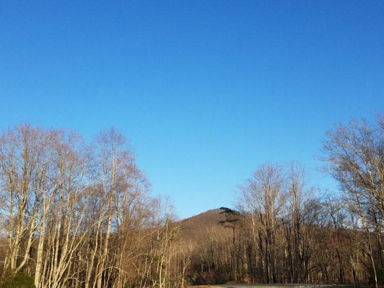 sky, mountain, march 2016, stone mountain