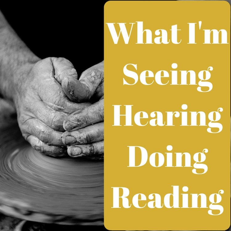 seeing, hearing, doing, reading, life, challenge, currently, monthly, list, series