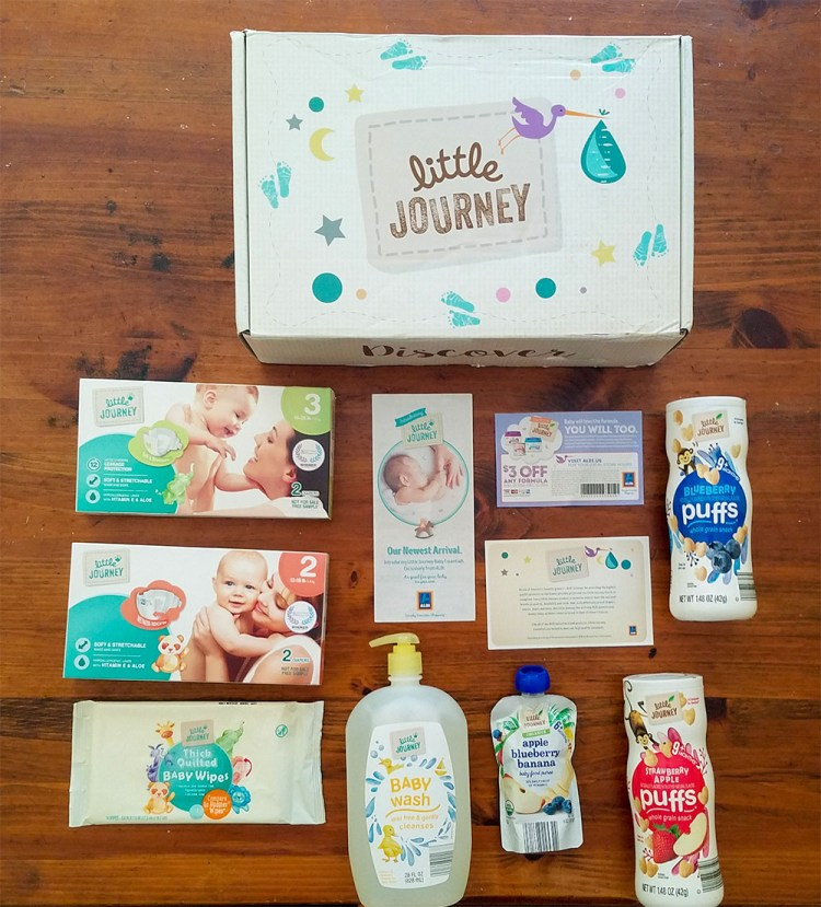 influenster, aldi, voxbox, baby, products, littlejourney, baby products