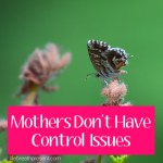 Control in Motherhood is Different