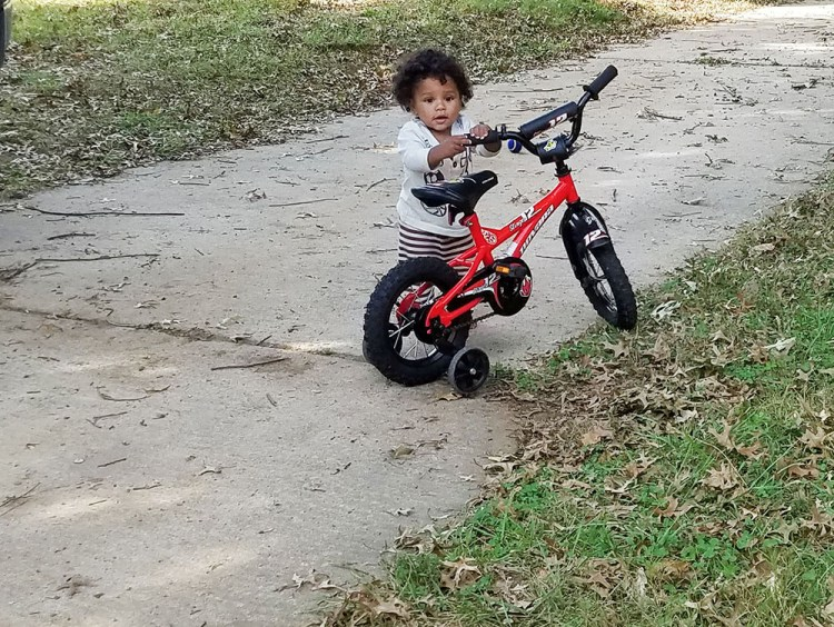 turtle boy, bike, play, playing, outside, fun, 11 months