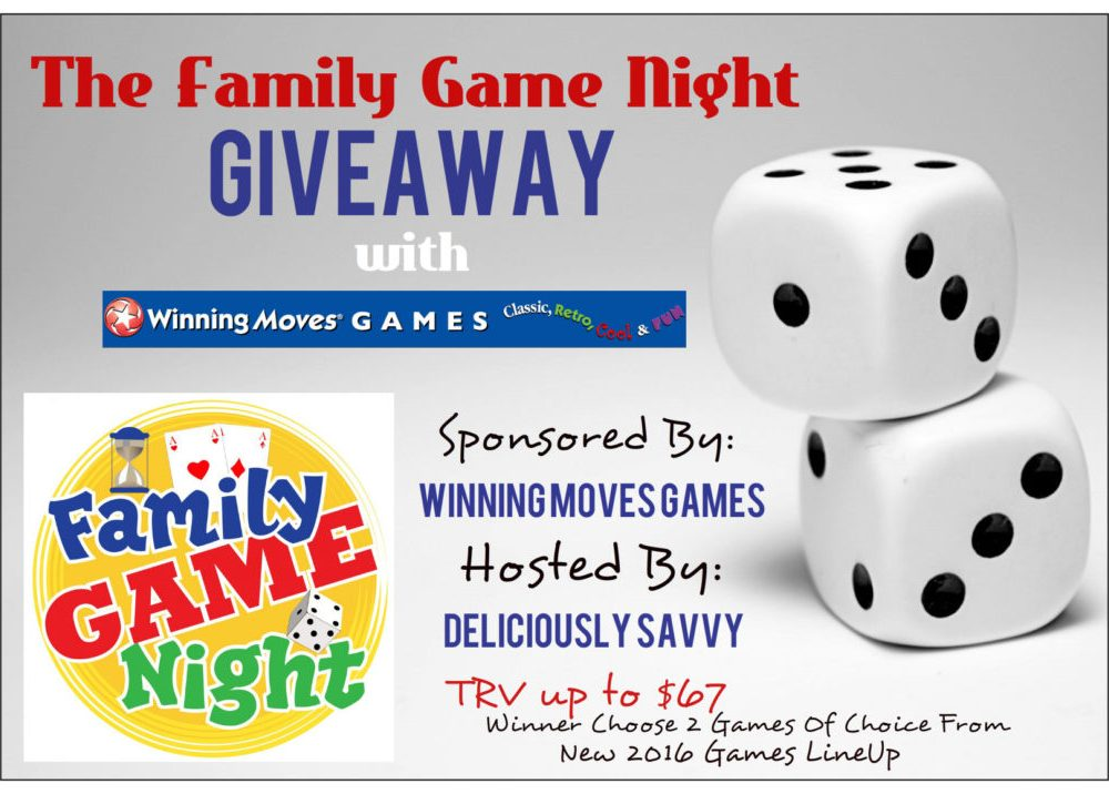 Family Game Night {Giveaway}
