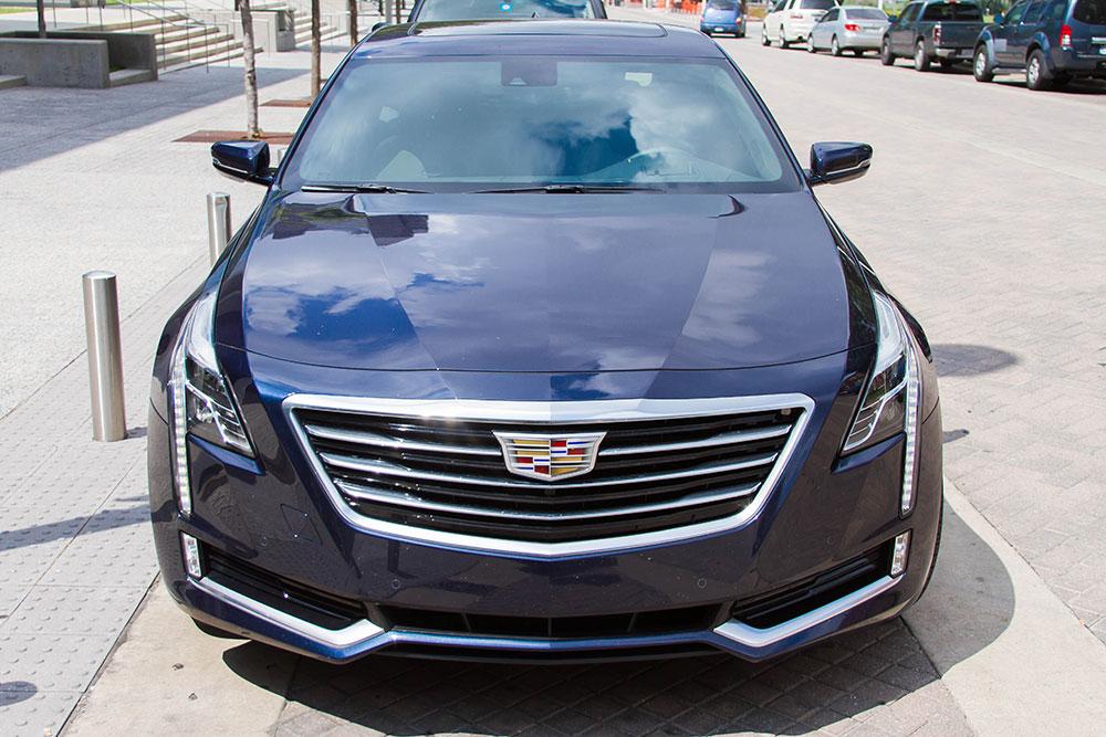2016 Cadillac CT6 Hood