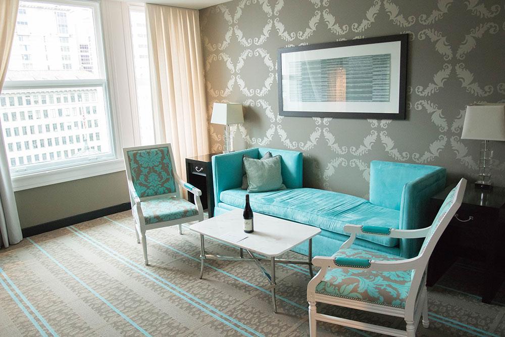 One Bedroom Suite - Entrance - The Nines Portland Oregon