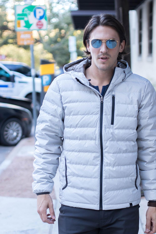 Prana Lasser Jacket - White 2