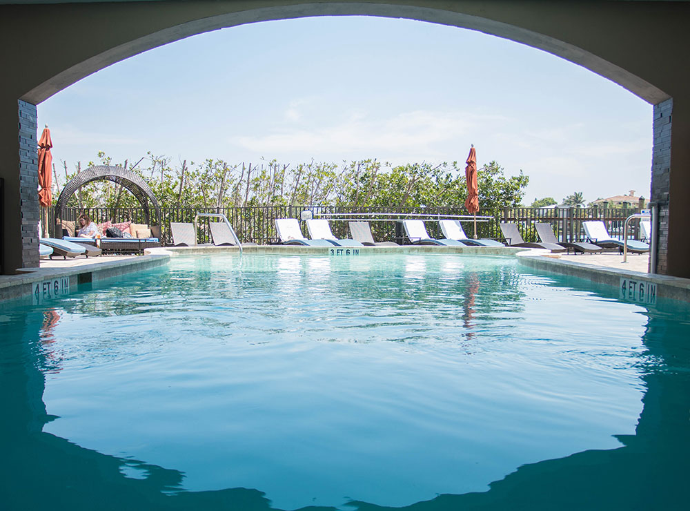 Hotel Zamora - Pool - St. Pete Beach Florida