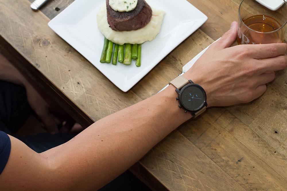 MVMT Watch Black Chronograph