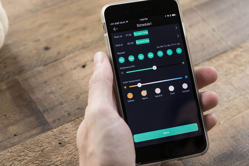 Sengled Light Scheduling App