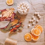 Diy Fall Garland With Dried Oranges Life By Leanna