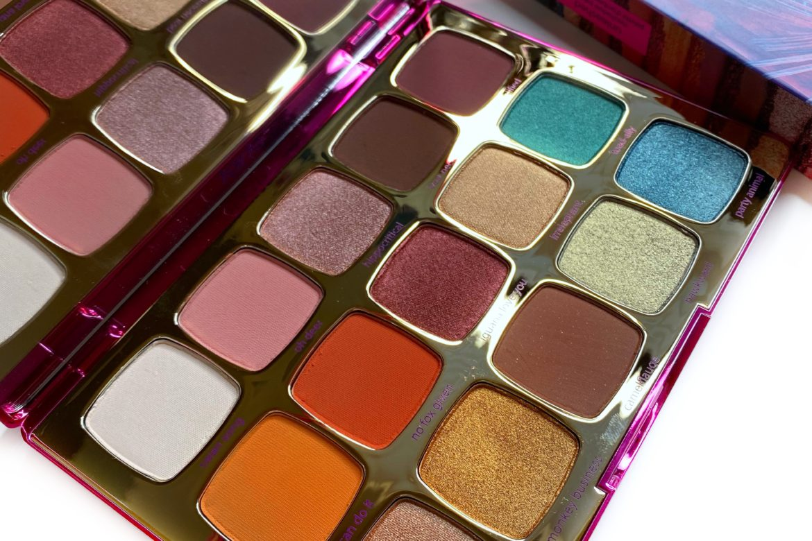 Tarte Unleashed Eyeshadow Palette Review, Swatches, and Video ...