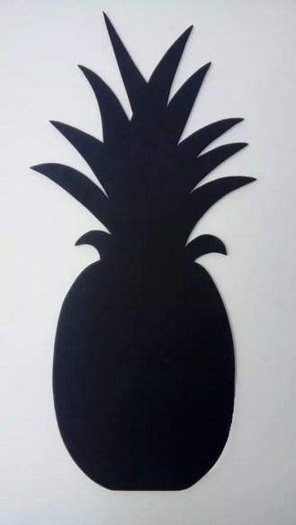 silhoutte ananas