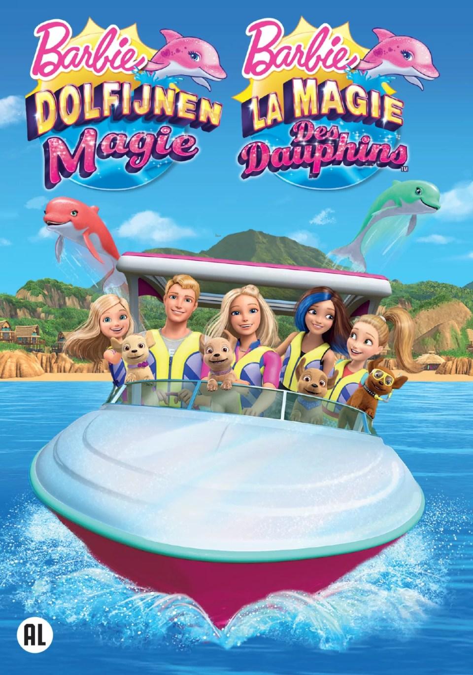 Barbie, dolfijnen magie