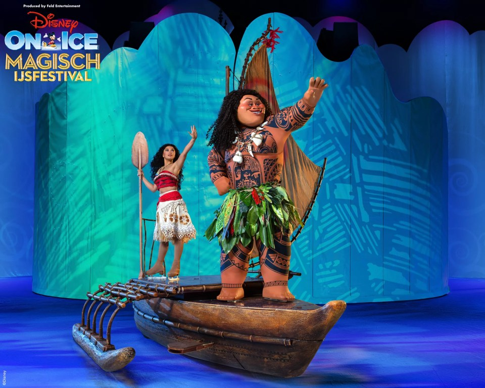 Disney on Ice Vaiana en Maui
