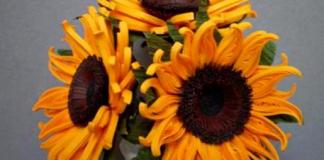 quilling-sunflower