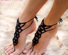 Crochet-sandal-designs