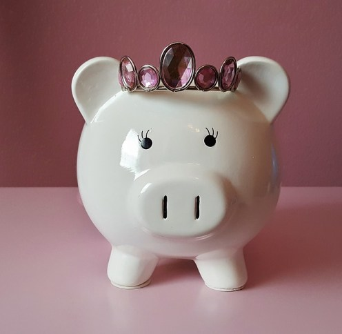 money leaks princess piggy bank
