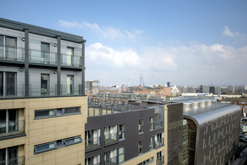 Image of Manchester city centre apartments and offices