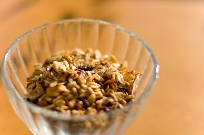 Christmas Brunch 2009 - Maple Almond Slow Cooker Granola