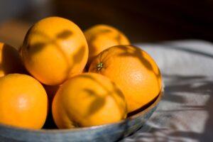 Oranges with a recipe for Orange Marmalade & Candied Orange Peel