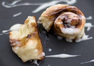 Cinnamon Rolls with Vanilla Icing