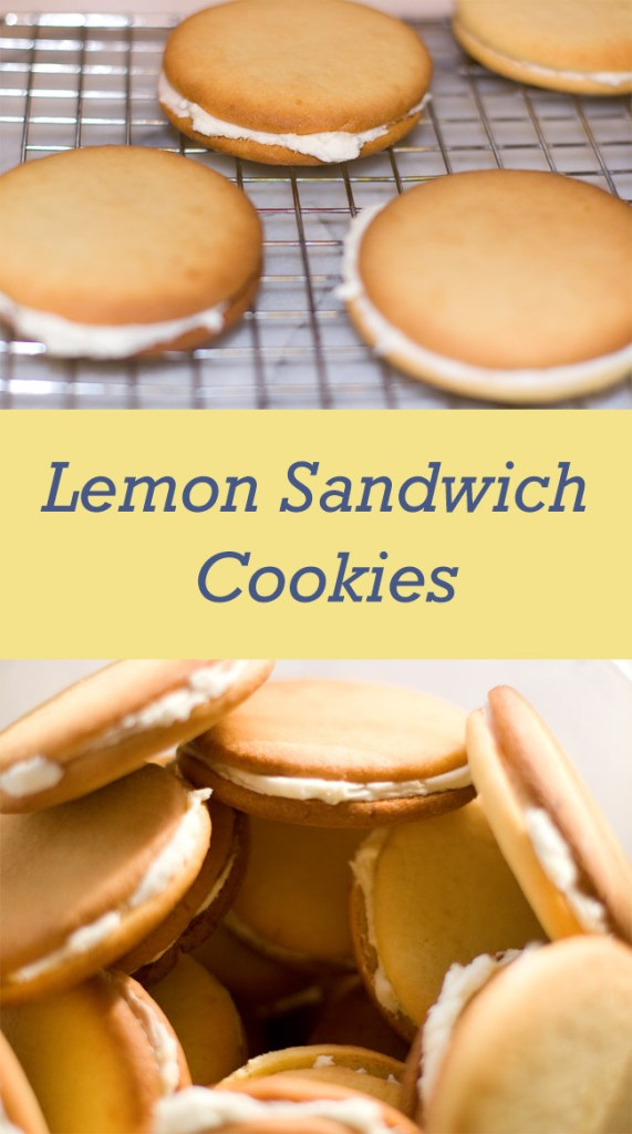 Lightly lemony icing for the filling inside lemon sugar cookies, makes the perfect Lemon Sandwich Cookies that everyone will love!