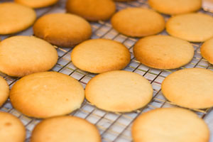 Lemon Cookies for Lemon Sandwich Cookies