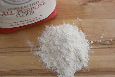 A Flour Primer - Information on all-purpose flour, bread flour, cake flour, whole wheat, how to measure flour, storage, ... well, basically everything you want to know about flour! All-Purpose Flour
