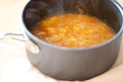Honey Lemon Marmalade cooked lemons