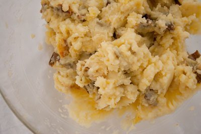 Pacific Northwest Thanksgiving 2010 Menu mashed potatoes