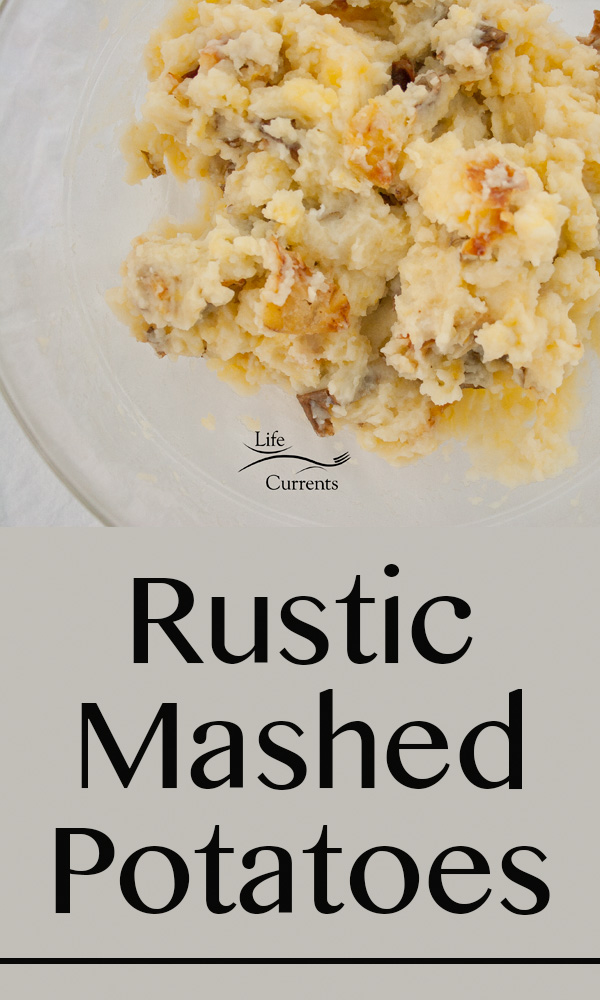 Country Gravy Mix featured recipe for Rustic Mashed Potatoes Recipe - perfect for the holidays