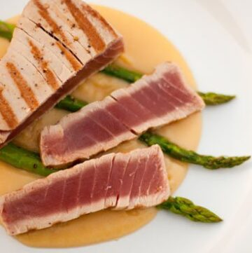 seared albacore tuna