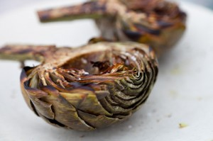 Grilled Artichokes https://lifecurrentsblog.com/artichokes/