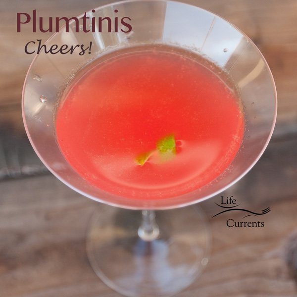Plum Syrup for Plumtinis Recipe -- Plumtini. Great for sipping on a hot summer day