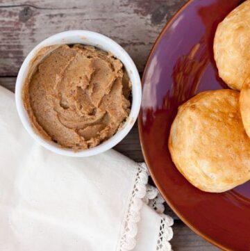 homemade gingerbread butter