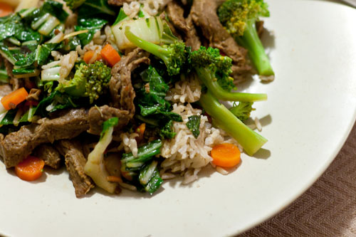 Clean eating thoughts and review ... Days 4 - 24 beef stir fry