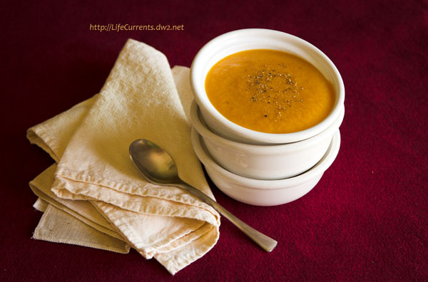 vegan sweet potato miso soup #comfortFood #vegan #soup