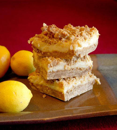 Oatmeal Lemon Creme Squares Life Currents https://lifecurrentsblog.com perfect for Mother's Day brunch