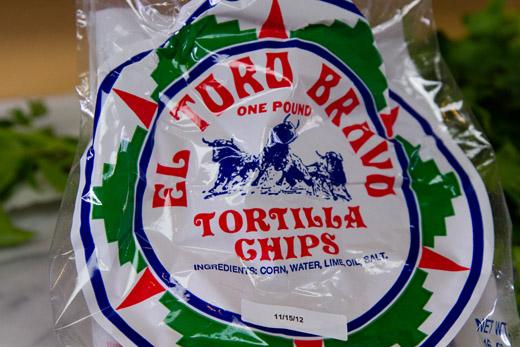 El Toro Bravo Tortilla Chips for Grilled Swordfish Nachos