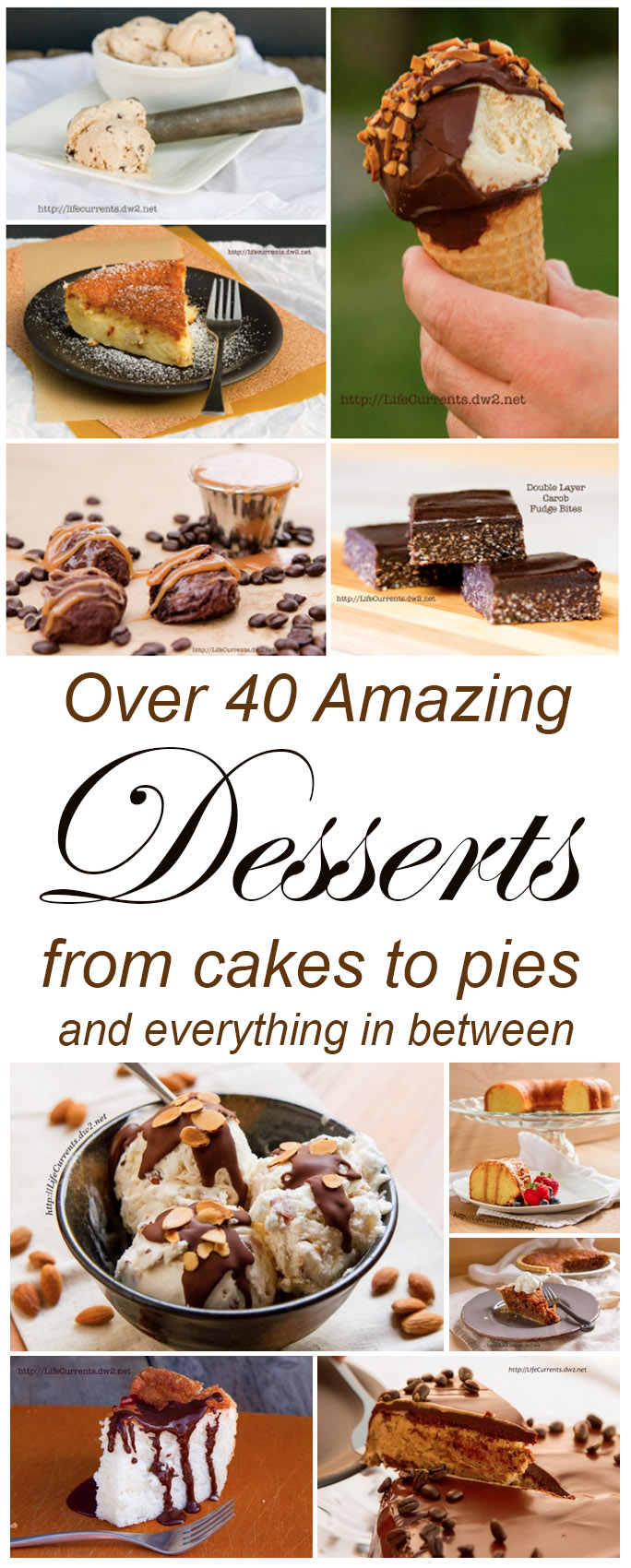 A collection of desserts that you're sure to love!