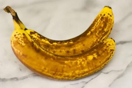Bourbon Banana Walnut Bread #bananaBread #bourbon #quickBread really ripe bananas are great for banana bread really ripe bananas are great for banana bread