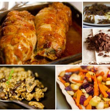 Thanksgiving menu 2012 | Life Currents